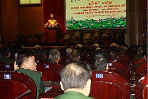 530 cựu chiến binh tiêu biểu dự Đại hội thi đua yêu nước lần thứ VI