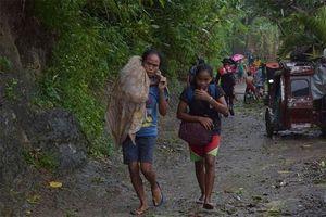 Bão Kammuri tấn công Philippines, hàng nghìn người phải sơ tán