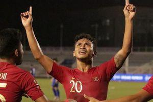 U22 Indonesia thắng 8-0 U22 Brunei, đẩy U22 Thái Lan vào thế khó