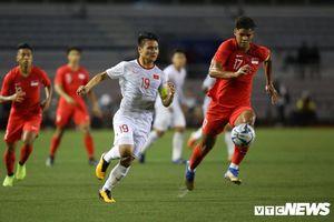 Trực tiếp U22 Việt Nam vs U22 Singapore vòng bảng SEA Games 30