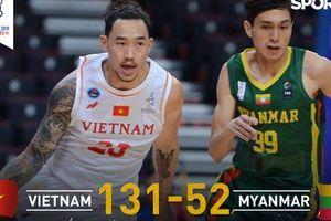 'Hủy diệt' Myanmar trong ngày ra quân tại SEA Games 30, đội tuyển bóng rổ Việt Nam tạo đà thuận lợi trước trận đại chiến với Singapore