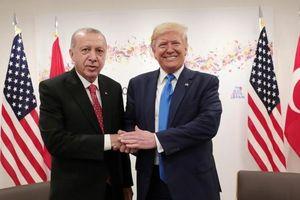 Tổng thống Donald Trump khen nức nở Thổ Nhĩ Kỳ