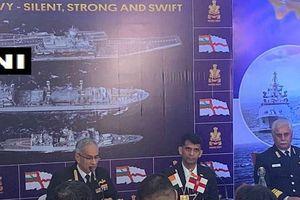 Đô đốc Hải quân Ấn Độ lý giải việc điều tàu chiến xua đuổi tàu khảo sát Trung Quốc