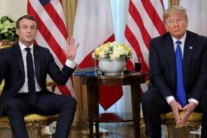 Tổng thống Mỹ và Pháp đối đầu trước phiên họp NATO