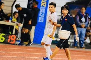 Quang Hải bị chấn thương nặng nhiều khả năng chia tay SEA Games 30