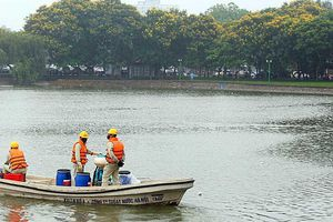 Hà Nội đang hoàn thiện kết luận thanh tra về chế phẩm làm sạch hồ Redoxy-3C