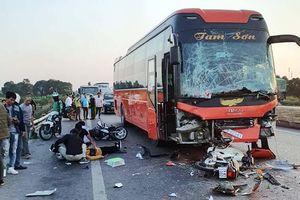 Hà Nội: Đã xác định được danh tính nữ phụ xe chết thảm sau tai nạn liên hoàn