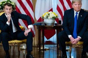 Cuộc gặp hé lộ rạn nứt Trump - Macron