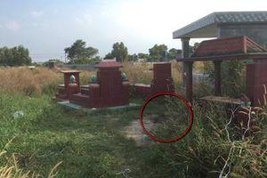 Có dấu hiệu tội phạm vụ xương người bị đốt cháy đen trong nghĩa trang