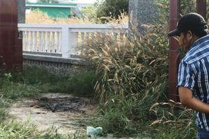 Vụ xương người bị đốt cháy trong nghĩa trang: Nạn nhân chết khoảng 2 - 3 tháng trước