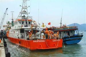 Cứu nạn thành công tàu cá cùng 6 thuyền viên bị nạn trên biển