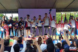 SEA Games 30: Chủ nhà Philippines đã cán mốc 100 huy chương