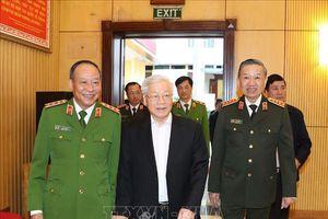Tổng Bí thư, Chủ tịch nước đánh giá 10 kết quả nổi bật của lực lượng Công an năm 2019