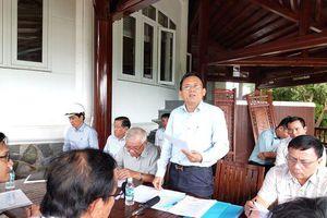 Phó Chủ tịch Khánh Hòa thị sát, quyết 'cắt ngọn' biệt thự vượt tầng Ocean View