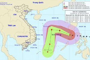 Dự báo thời tiết hôm nay (4/12): Bão Kammuri mạnh lên thành cơn bão số 7