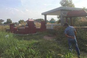 Bộ xương bị đốt cháy ở nghĩa trang vùng ven Sài Gòn: Nạn nhân tử vong khoảng 2 tháng trước, nghi bị sát hại phi tang