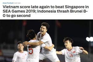 Báo châu Á khen ngợi bàn thắng muộn và bản lĩnh của U22 Việt Nam