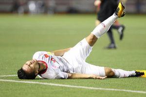 Quang Hải tổn thương cơ đùi, sẽ không có mặt ở trận đấu gặp Thái Lan