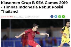 Báo Indonesia hân hoan vì U22 Thái Lan phải 'tử chiến' U22 Việt Nam ở lượt đấu cuối