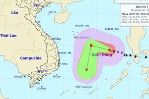 Tin bão số 7: Một tàu Quảng Ngãi chìm ở vùng biển Hoàng Sa