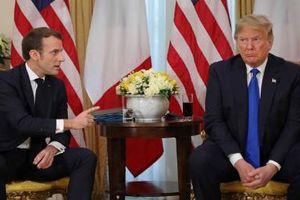 Trump mô tả tuyên bố của Macron về NATO là 'rất khó chịu'