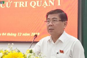 Chủ tịch UBND TP.HCM trả lời cử tri về trường hợp ông Tất Thành Cang