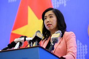 Việt Nam lên tiếng về thông tin Trung Quốc triển khai trái phép khí cầu ở Trường Sa