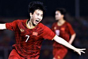 Highlights bóng đá nữ SEA Games 30: Philippines 0-2 Việt Nam