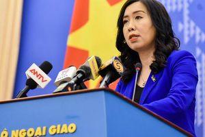 Người phát ngôn lên tiếng về thông tin khinh khí cầu Trung Quốc do thám ở đá Vành Khăn