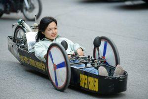 Sinh viên Hà Nội chế tạo 'siêu xe' chạy 1.000 km chỉ tốn 1 lít xăng