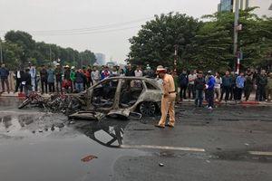 Khởi tố vụ xe Mercesdes gây tai nạn rồi bốc cháy