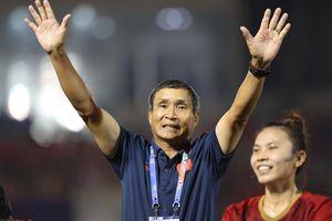 HLV Mai Đức Chung hài lòng về màn trình diễn của đội tuyển nữ Việt Nam