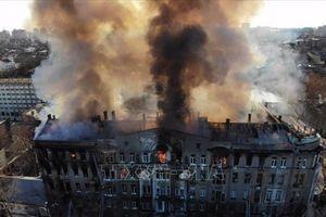 Cháy trường đại học ở Ukraine, một giáo viên tử vong và hàng chục người bị thương