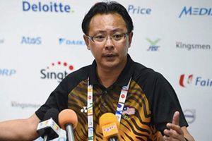 HLV U22 Malaysia mất chức vì bị loại ở ngay vòng bảng SEA Games 30