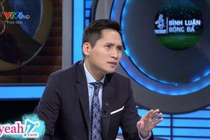 BLV Quốc Khánh trở lại dẫn dắt chương trình bình luận trận đấu giữa U22 Việt Nam và U22 Thái Lan tại Sea Games 30