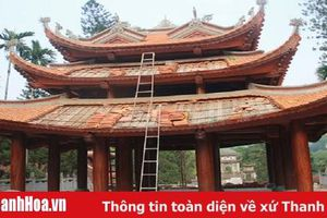 Tu bổ, tôn tạo di tích đền thờ Triệu Việt Vương ở xã Hoằng Trung