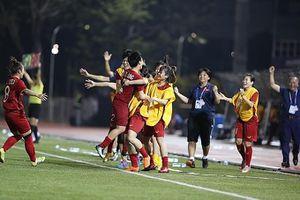 Thắng nữ Philippines, tuyển nữ Việt Nam gặp nữ Thái Lan ở chung kết SEA Games 30