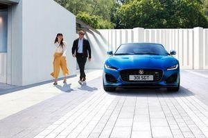 Jaguar F-Type ra mắt phiên bản hoàn toàn mới, nhiều lựa chọn động cơ