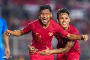 Trực tiếp U22 Indonesia vs U22 Lào vòng bảng SEA Games 30