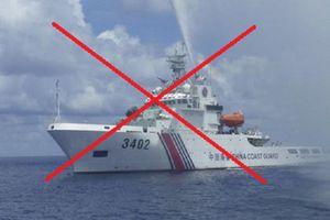 Xác minh thông tin Trung Quốc điều tàu hải cảnh vào thềm lục địa Việt Nam