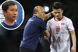 Bác sỹ thông báo Quang Hải phải nghỉ hết SEA Games 30