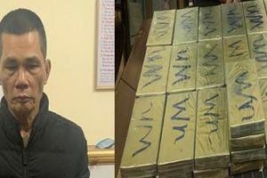 Người đàn ông U70 cầm đầu giao dịch 44 bánh heroin