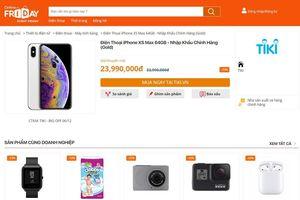 Ngày Online Friday, trò bịp bán iPhone giảm 10 triệu lại diễn ra