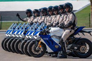 Cảnh sát Abu Dhabi dùng siêu môtô Ducati Panigale V4 R làm xe tuần tra