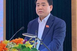 Chủ tịch Hà Nội Nguyễn Đức Chung: Không để cho một ông, một công ty vào đây làm trò đùa cho thiên hạ