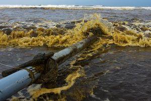Nước biển ở Quảng Ngãi đổi màu lạ: Giám đốc Sở TN&MT nói gì?