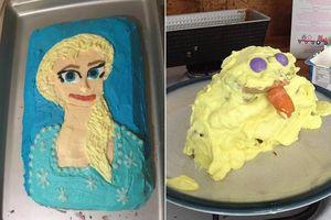 Được fan hâm mộ gửi tặng bánh kem lấy cảm hứng từ Frozen 2, 'bà hoàng truyền hình' Ellen Show tá hỏa: Elsa và Olaf đây ư?