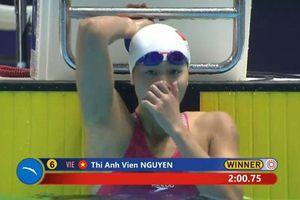 SEA Games 30: Ánh Viên giành Huy chương Vàng bơi 200m tự do