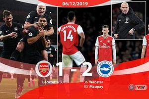 Arsenal có trận thua gây thất vọng, ngày buồn của Freddie Ljungberg