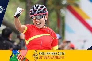 SEA Games 30: Cua rơ Nguyễn Thị Thật giành HCV xe đạp nội dung xuất phát đồng hàng nữ